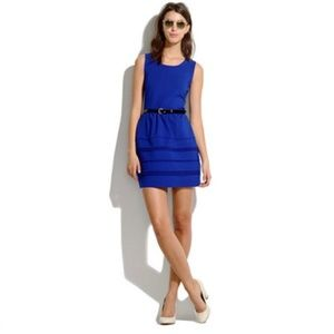 Madewell Silhouette Dress in Royal Blue
